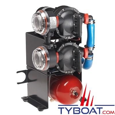Johnson Pump - Groupe d'eau Compact Duo WPS 10.4 - 40 Litres/minute - 12 Volts