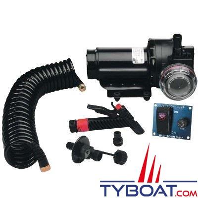 Johnson Pump - Kit pompe de lavage de pont - Aqua Jet 5,2 WD 20L/min - 5 bars - 12 Volts