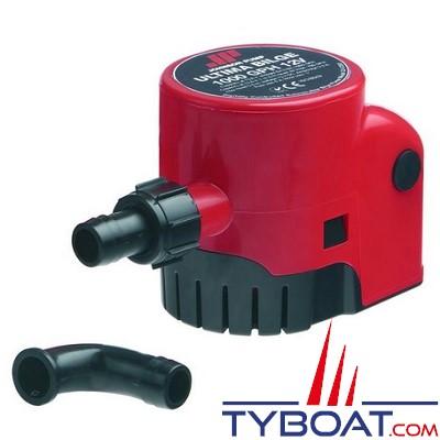 JOHNSON PUMP - Pompe de cale automatique Ultima Bilge 1000GPH 12 Volts 3840 Litres/Heure