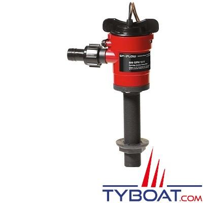 Johnson Pump - Pompe de vivier 500GPM - Entrée droite 3/4