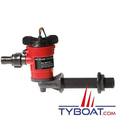 Johnson Pump - Pompe de vivier 550GPM - Entrée coudée 3/4