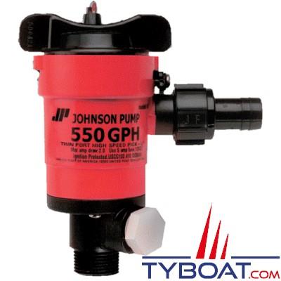 Johnson Pump - Pompe de vivier 550GPM - Entrée droite 3/4
