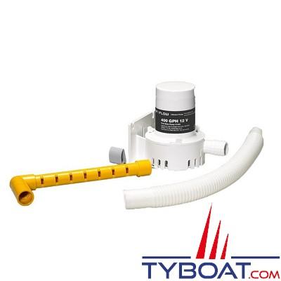 Johnson Pump - Pompe de vivier - Kit oxygénation - ICE CHEST