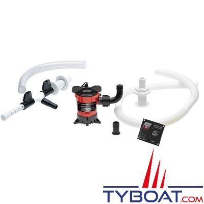 Johnson Pump - Pompe de vivier - Kit OXYGENATEUR / RECYCLEUR - IN-WELL