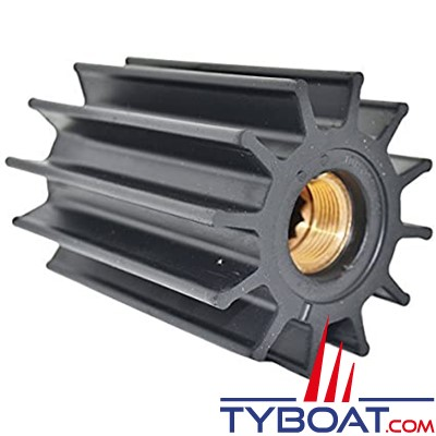 Johnson pump - Turbine pour pompe néoprène 12 cannelures 12 pales Ø 95 mm