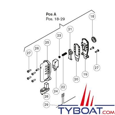 JOHNSON PUMPS - Kit Pressostat pour pompes WPS 2.9 - débit 11 litres par minute