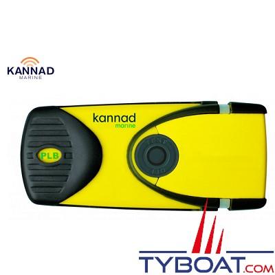 Kannad - Balise individuelle PLB 406 MHz avec GNSS - SOLAS