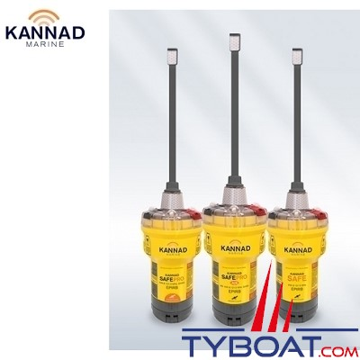 Kannad - EPIRB's - SAFEPRO AIS - Support manuel - Déclenchement lors du contact à l'eau