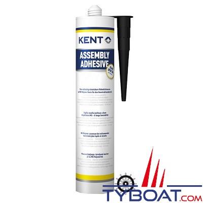 Kent Europe - Adhésif MS polymère (MSP) mono composant - Cartouche 290 ml homologué SOLAS
