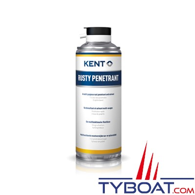 Kent Europe - Dérouillant multi-usage Rusty Penetrant - Aérosol 400 ml