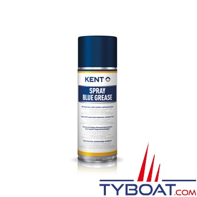 Kent Europe - Graisse lithium Blue Grease - Aérosol 400 ml