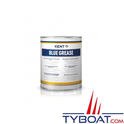 Kent Europe - Graisse lithium Blue Grease - Pot de 1 Litre
