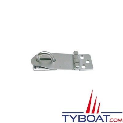 Attache capot inox 304 Dimensions 33 x 67 x 1.5 mm