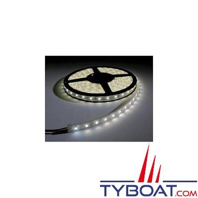 Bande LED 12V 24W blanc chaud 5m largeur 8mm IP54