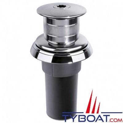 Quick - Cabestan QUICK TOTEM TM3 - 500 Watts - 12 Volts - avec poupée - bateau 6 à 7 Mètres