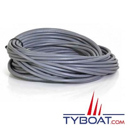 KENT MARINE - Câble multiconducteur H05VV-F 3 X 1,5mm² gris 25 mètres