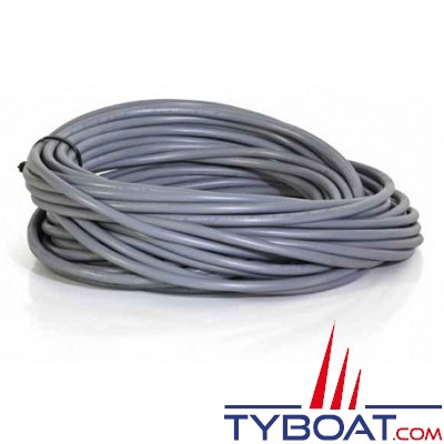 Câble multiconducteur H05VV-F 3 X 2,5mm² gris - par 25 mètres
