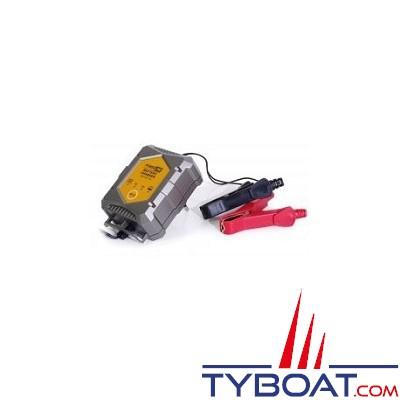 Kent Marine -  Chargeur batterie - POWERLINE - 6/12 Volts - 1 Ampère - Etanche