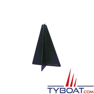 KENT MARINE - Cône signalisation noir h47cm