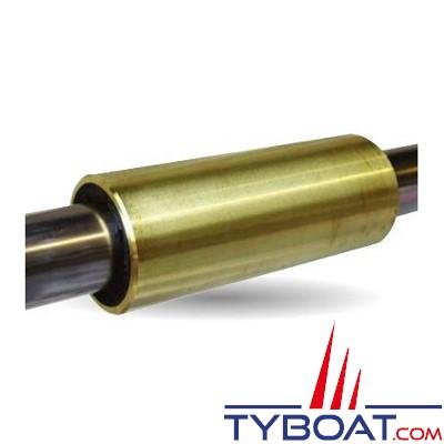 MMP - Coussinet bagué en laiton Ø intérieur 30mm Ø extérieur 40mm longueur 120mm