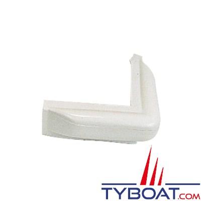 Majoni - Défense de ponton blanche équerre