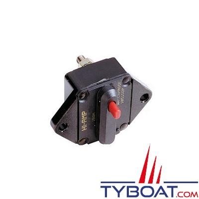 COOPER BUSMANN - Disjoncteur thermique 1 pôle 50A encastré