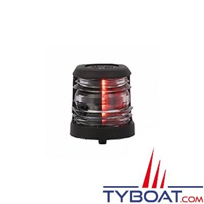 Aqua Signal - Feu de navigation - Série 20 - Montage Base  - Babord rouge 112,5° - 12 Volts - 5 Watts - Noir