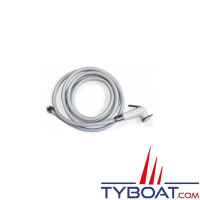Kent Marine - Kit douchette + flexible 4m PVC + boîte encastrable