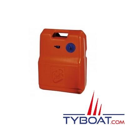 Kent Marine - Nourrice carburant - 24 Litres - Plastique