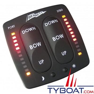 Bennett - Panneau de commande LED pour flaps Bennett BCI8000