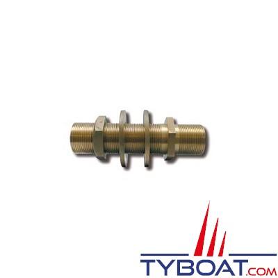 Passe-cloison en bronze - 40x49 - 1