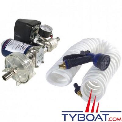 Marco - Pompe électrique automatique - 12 Volts - fusible 10 Ampères - 14 Litres/min