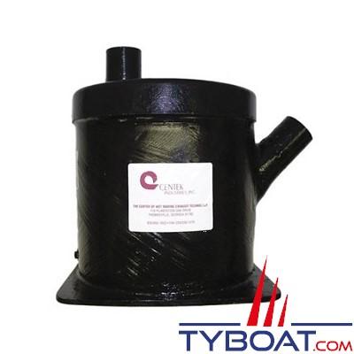 Centek Industries 1500112 - Pot entrée à 45° / sortie verticale 3