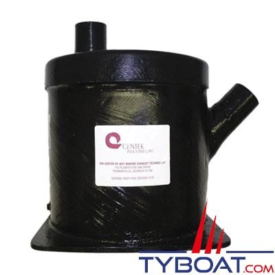 Centek Industries 1500118 - Pot entrée à 45° / sortie verticale 8