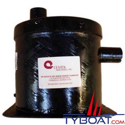 Centek Industries 1500090 - Pot entrée horizontale / sortie verticale 5