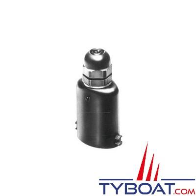 Aqua Signal - Prise mâle - 5 plots - Pour câble de 7 à 10 mm - Maxi 42 Volts - 16A