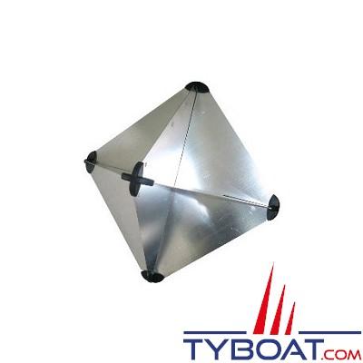 Réflecteur radar de bateau réglementaire - 30,5 x 30,5 x 41,5 cm