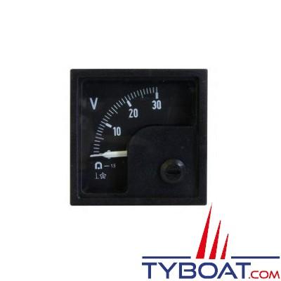 Pros by Ditel - Voltmètre analogique 0-30VCC