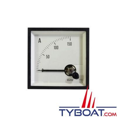 Pros by Ditel - Ampèremètre analogique - 72x72mm - 0/200A - DC