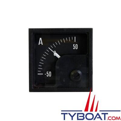 Pros by Ditel - Ampèremètre DC analogique - 250-0-250
