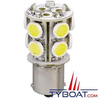 Ampoule culot BAY15D 10 LED 12v 1,8w