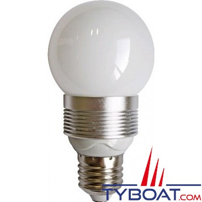 Ampoule LED - culot E40 - 230V - 3W - blanc chaud