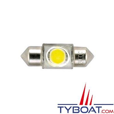 Ampoule navette 12V 10x36mm 0.9W
