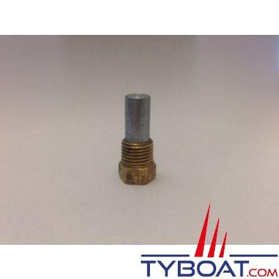 Anode zinc échangeur eau/air 80162 pour groupe électrogène Mase