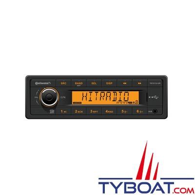 Autoradio Tuner - TR7411U-OR -  RDS USB AUX - 12Volts - 4X25W