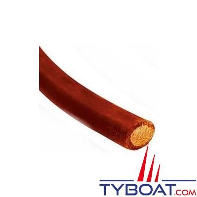 Câble de batterie souple 16mm² rouge au mètre