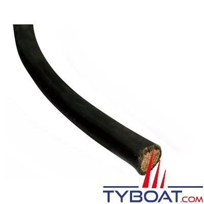 Câble de batterie souple 50 mm² noir au mètre