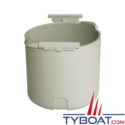 Capot arrière de protection pour Prise encastrable 230VAC 16A blanc