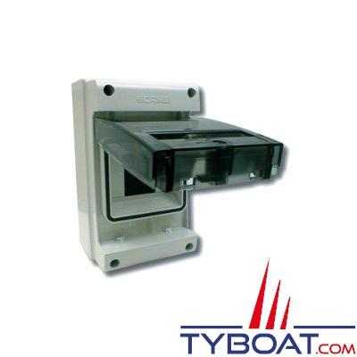 Coffret étanche IP55 4 modules 190 x 112 x 106mm