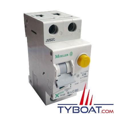 Disjoncteur différentiel 16 ampères 1P+N 30mA